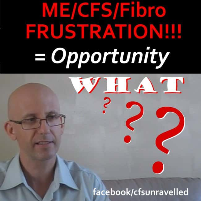 Frustrated with fibro & mecfs