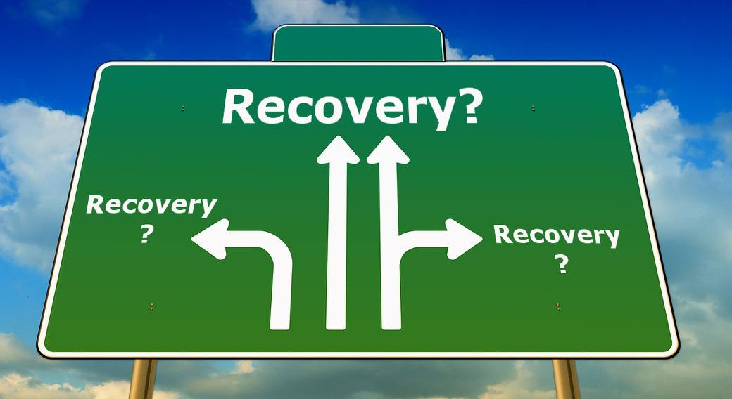 sign with many directions to ME/CFS, Fibromyalgia and POTS recovery