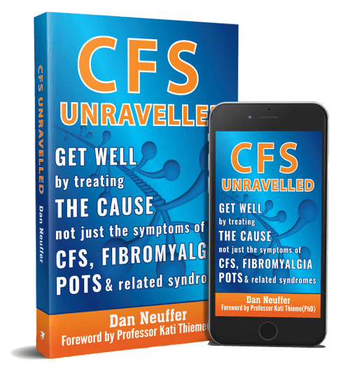 CFS Unravelled as paperback and eBook