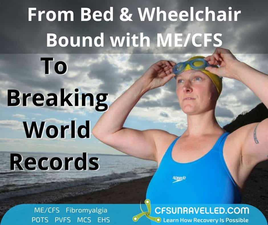 Beth French breaking world records after recovering from ME/CFS for 10 years
