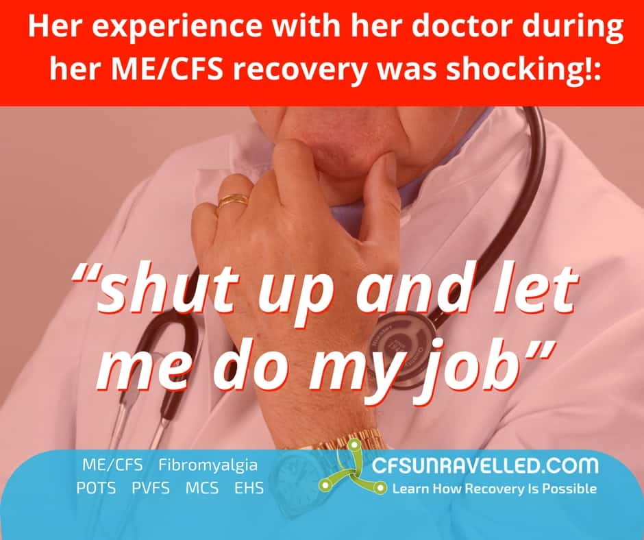 picture of health professional with quote