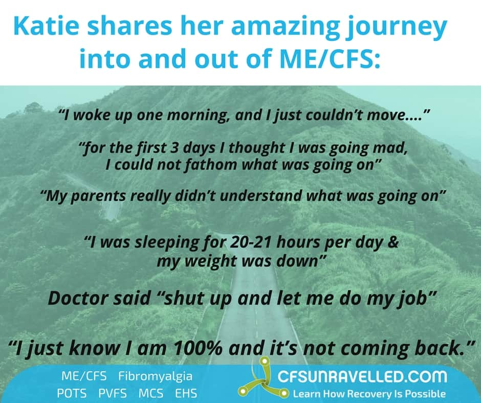 rain forest covered in quotes about how cfs relapse affected Katie