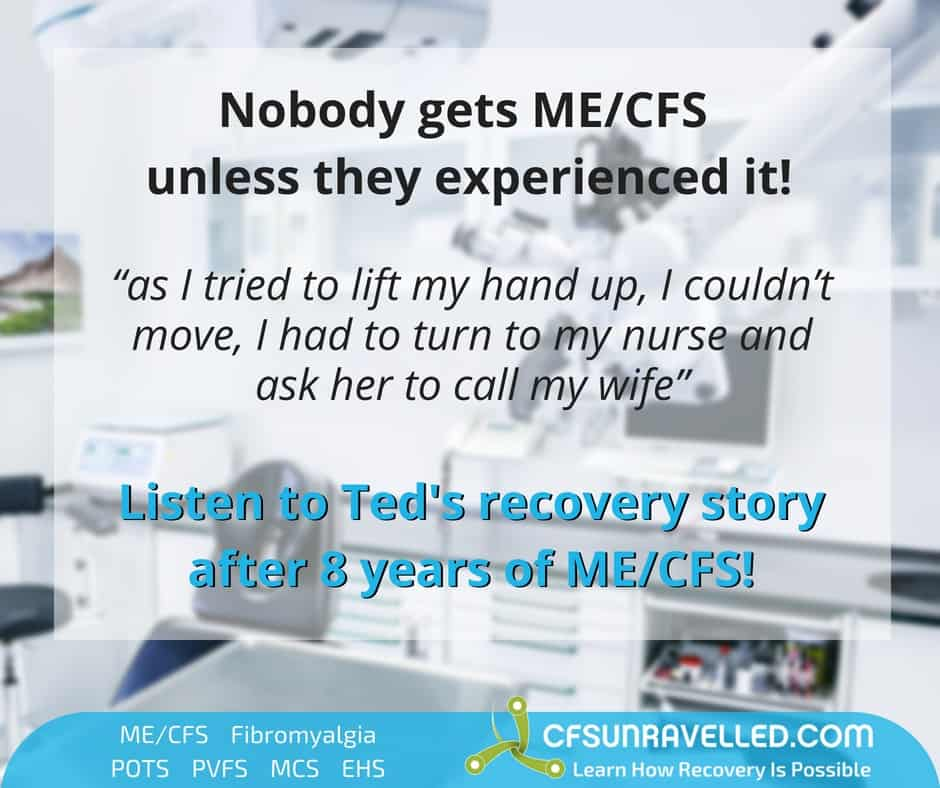 Ted's sudden ME/CFS PVFS onset in dental surgery