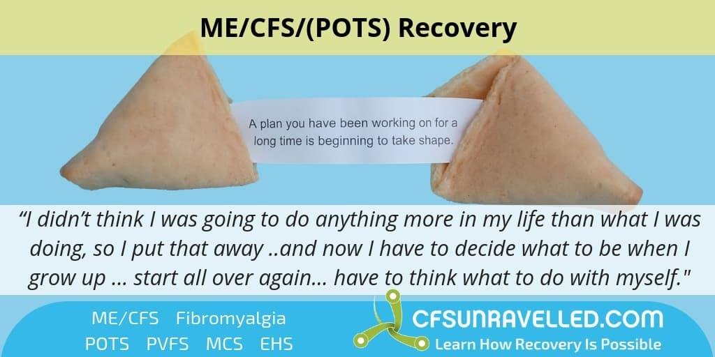 fortune cookie with quote about ME/CFS POTS recovery
