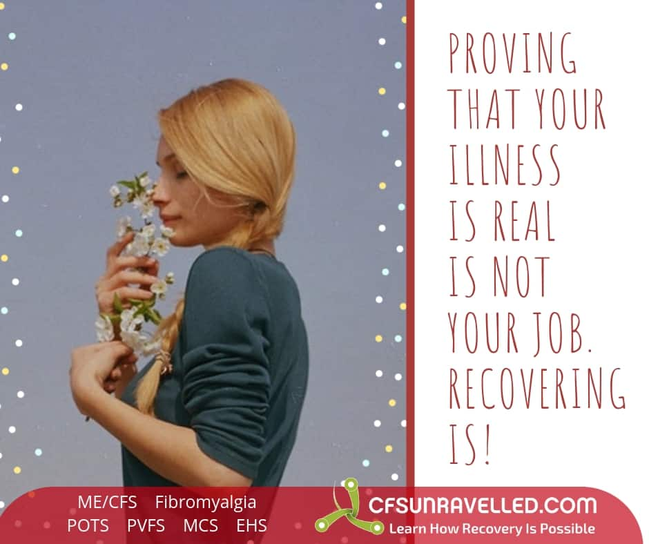 Uplifting others to recover from MECFS POTS Fibromyalgia