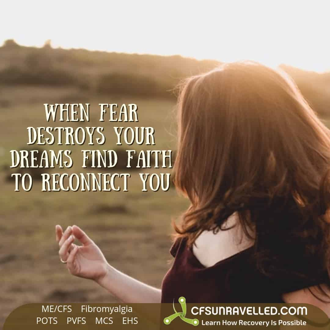 Faith is stronger than fear