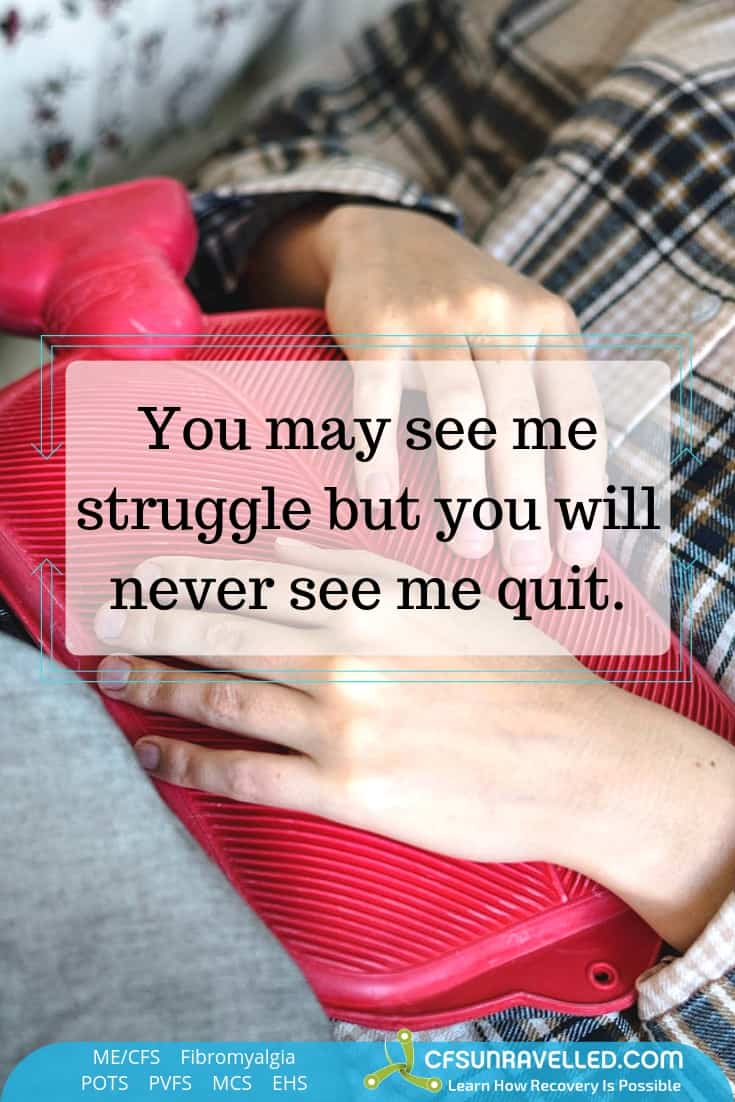 struggling but not quitting