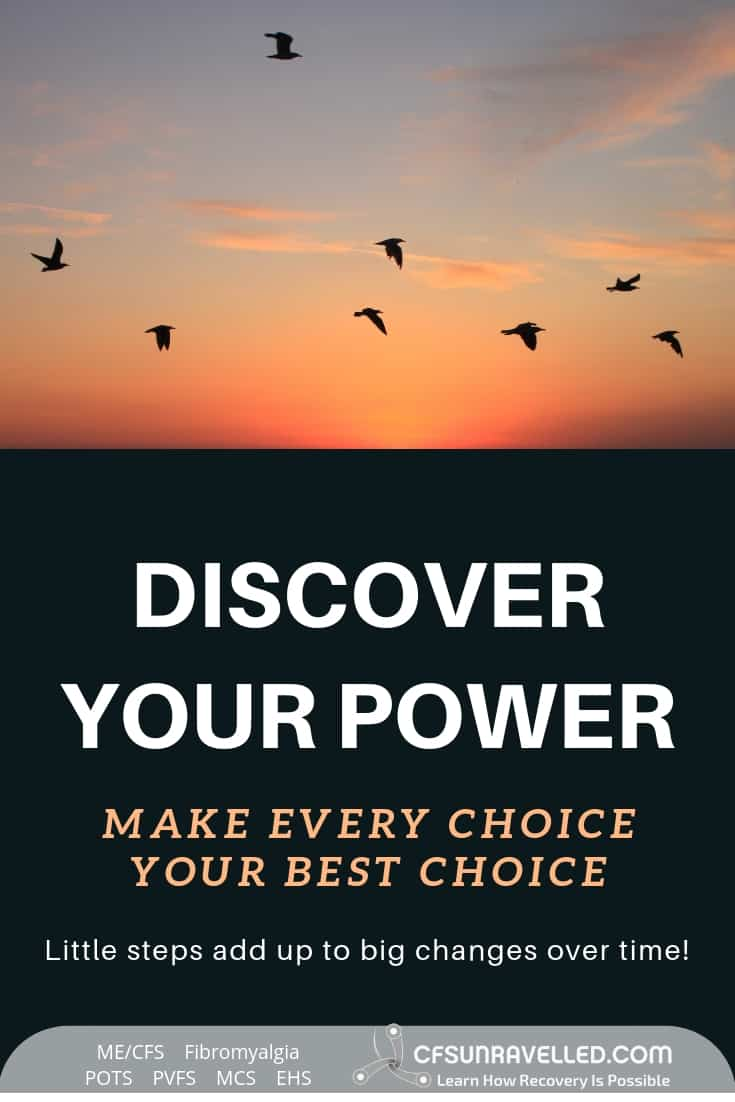 Make every choice your best choice with MECFS POTS Fibromyalgia