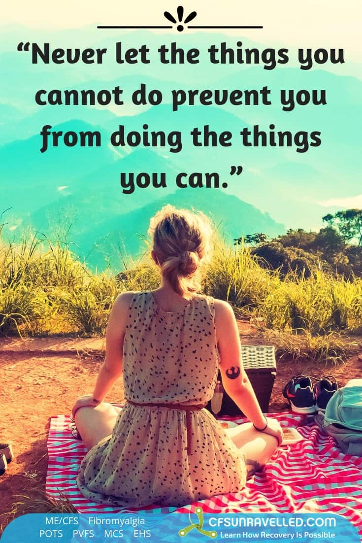 You can do it with MECFS POTS Fibromyalgia