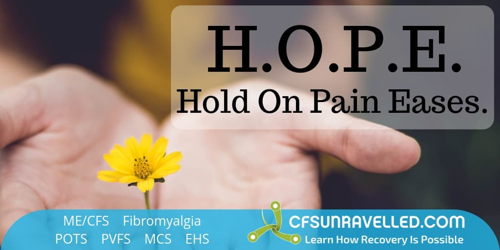 The power of hope for chronic pain sufferers