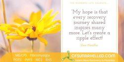 MECFS POTS Fibromyalgia Recovery journey inspiration