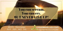MECFS POTS Fibromyalgia No giving up