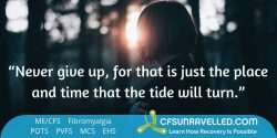Staying strong from MECFS POTS Fibromyalgia
