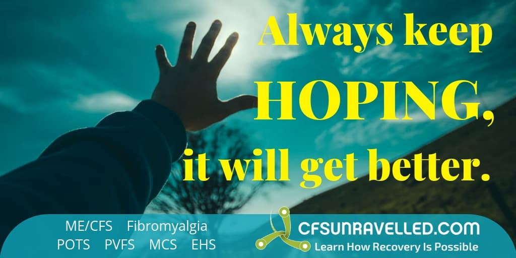 MECFS POTS Fibromyalgia Hoping for the best