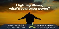 Inspiration to keep fighting from MECFS POTS Fibromyalgia
