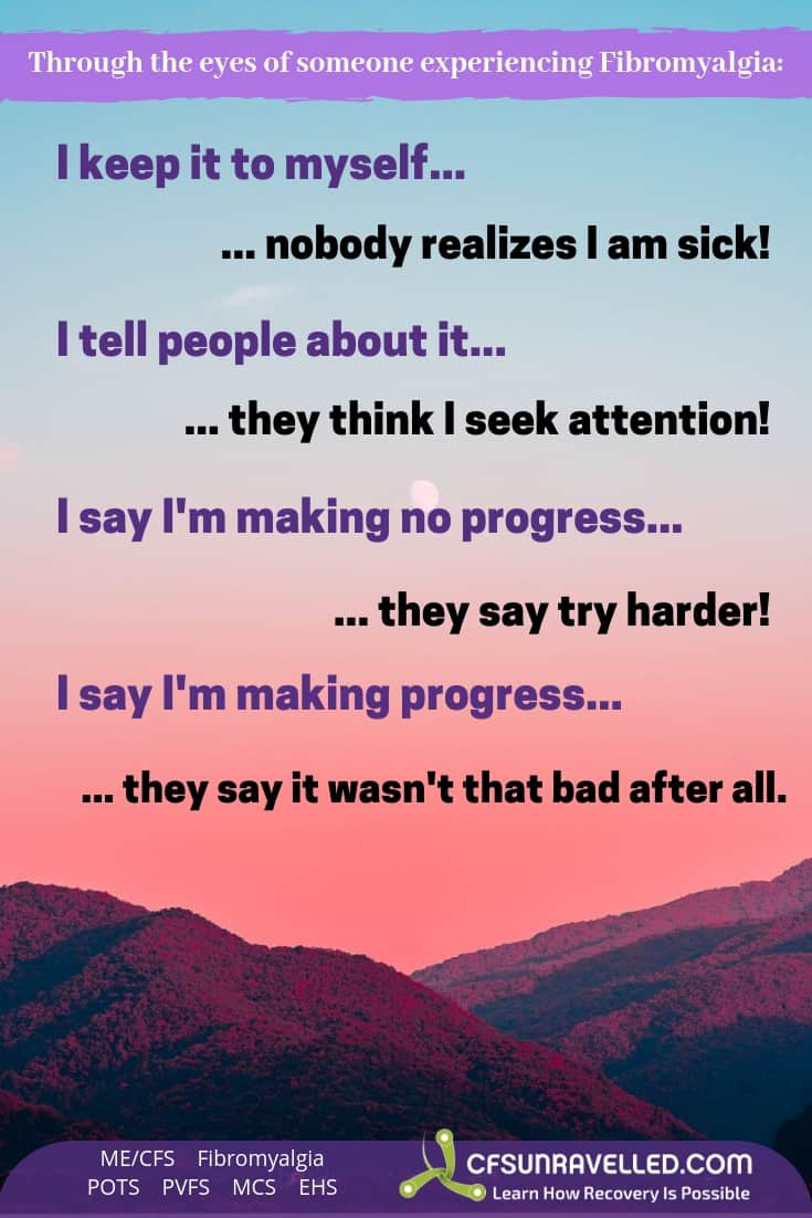 Things NOT to say to someone with an illness