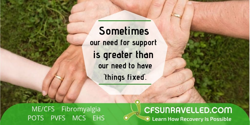 Support is more powerful than the need for it