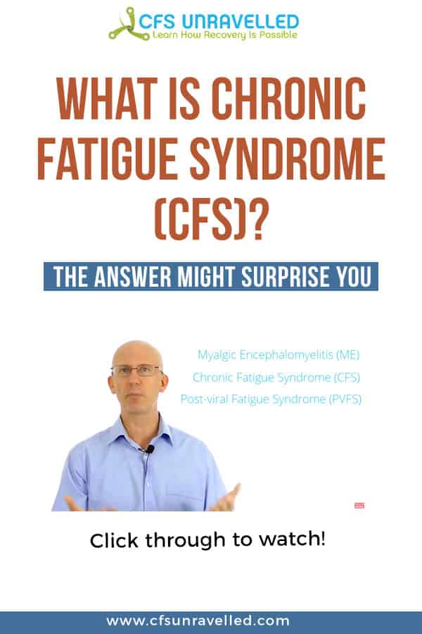 YouTube Video explaining What Chronic Fatigue Syndrome is