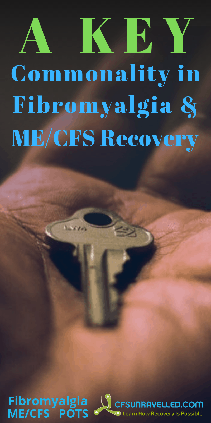 key in hand with words about commonality of recovery strategies