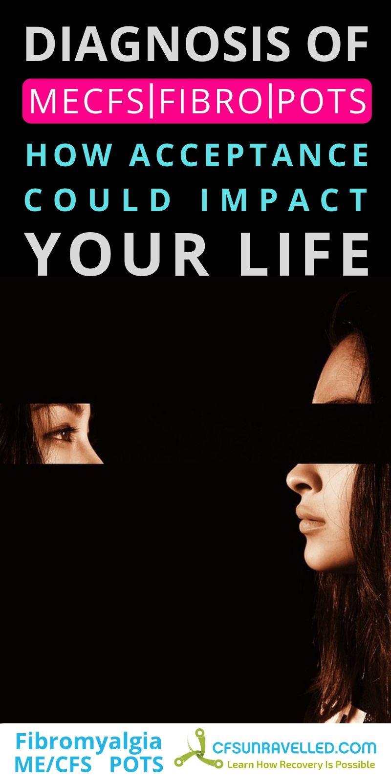 poster about impact on life with yes looking back at own head
