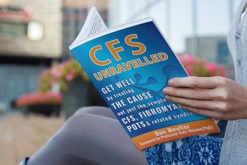 lady reading CFS Unravelled
